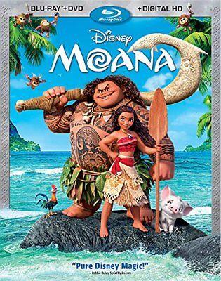 Moana  Blu Ray   Dvd   Digital