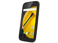 New & Unlocked Motorola Moto E Android 2nd Generation 4G Smartphone with Quality hard case