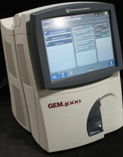 Instrumentation Laboratory Gem Premier 4000 Blood Gas Analyzer