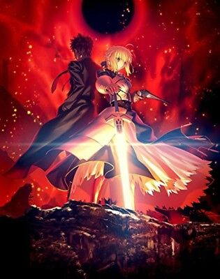 New Fate/Zero Blu-ray Disc Box Standard Edition Japan ANSX-13431 4534530103123