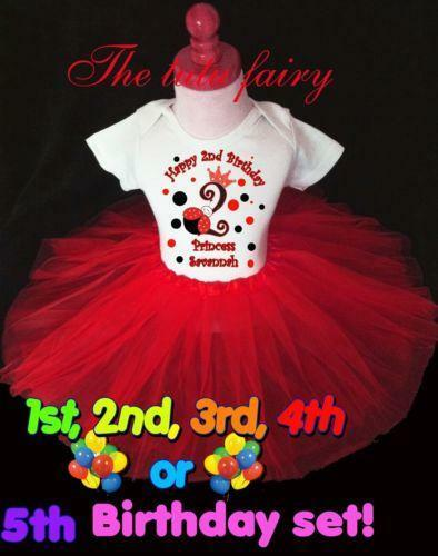 foto de Ladybug First Birthday Outfit