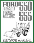 Ford 555 Backhoe