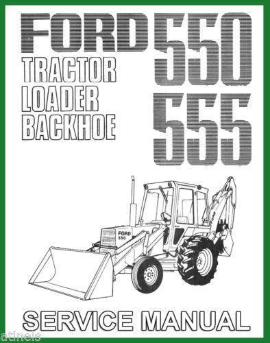 Ford 555 Backhoe   eBay