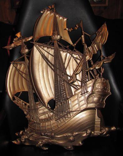 Syroco Ship Decorative Collectibles Ebay
