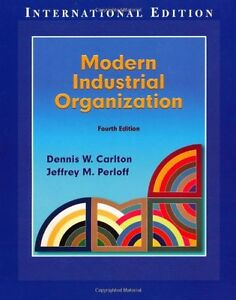 Modern Industrial Organization (International Edition) West Island Greater Montréal image 1