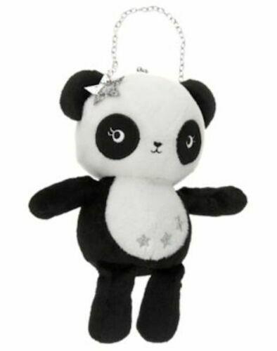 NWT Gymboree Starry Night Panda Plush Purse Toy Bag Girls