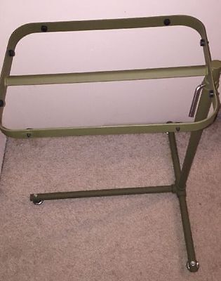 Military Mash Green Surgical Instrument Tray Stand 6530-00-551-8681 Good Cond.