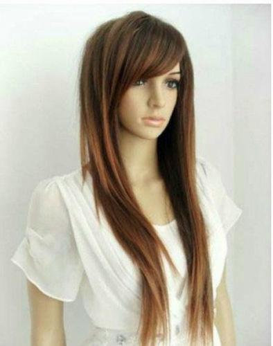 Long Brown Wig Ebay