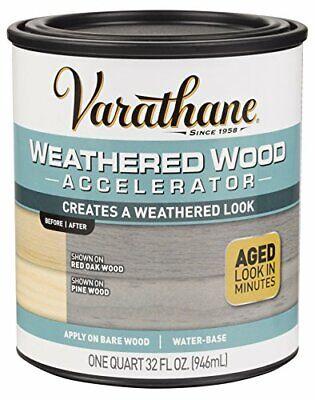 Rust-Oleum 313835 Varathane Weathered Wood Accelerator Grey