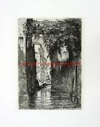 Venice Etching