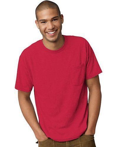 Hanes Mens Pocket T Shirts Ebay