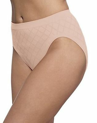 Bali 303J Panties Barely There Hi Cut Seamless Microfiber Black White Beige