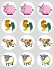Animals Cupcakes Cake Toppers