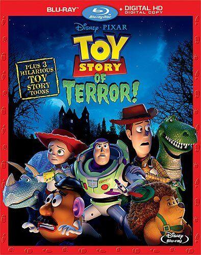TOY STORY OF TERROR (Disney)  -  Blu Ray - Sealed Region free
