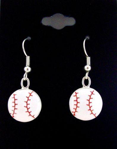 Baseball Earrings Ebay