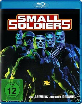 Small Soldiers  1998   Blu Ray    Kirsten Dunst  Gregory Smith   New   Sealed