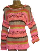 Womens Crochet Jumper