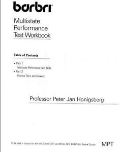 pmbr essay exam workbook
