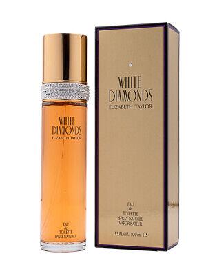 White Diamonds by Elizabeth Taylor 3.3  3.4 oz EDT Perfume for Women New In Box