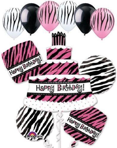 Decorating Ideas > Zebra Print Birthday Decorations  EBay ~ 195526_Birthday Party Ideas Zebra Print