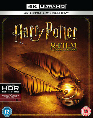 Harry Potter: Complete 8-film Collection Blu-ray (2018) Daniel Radcliffe,