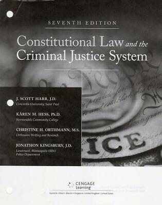 Constitutional Law And The Criminal Justice System, Loose-leaf Version - Good
