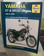 Yamaha SR 125 Manual