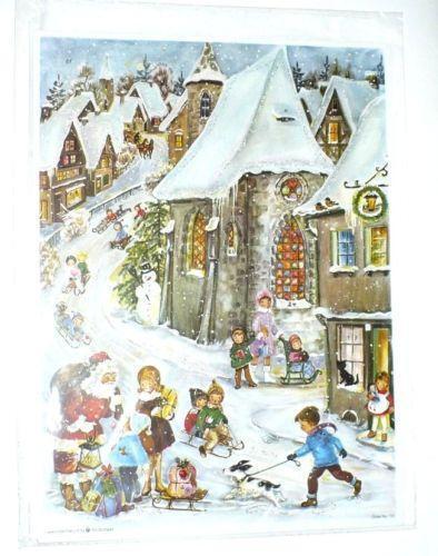 Vintage Advent Calendar Ebay