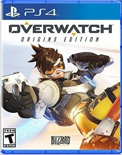 OVERWATCH ORIGINS EDITION PS4! HERO, BATTLEFIELD, FUTURE SOLDIERS ACTION FUN