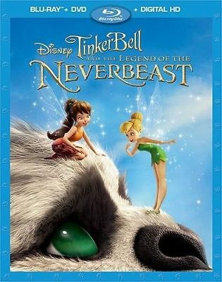 Tinker Bell and the Legend of the NeverBeast (BLU RAY/DVD/DIGITAL COPY, 2015) - Tinkerbell Movie
