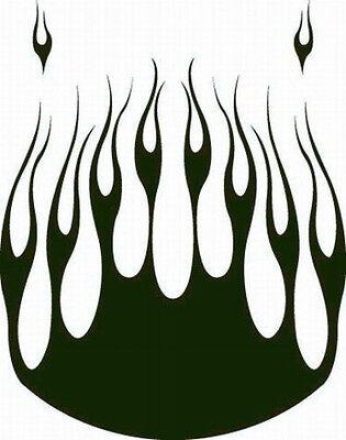 Flame Hood  68 Decal Vinyl Graphic Car Truck Auto Suv Van  Semi Cross Over Blaze