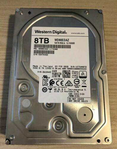 Western Digital 8 TB 3.5 SATA 6GB/s 5400RPM - WD80EDAZ OEM