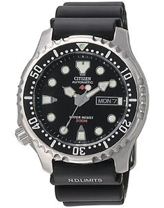 CITIZEN PROMASTER AUTOMATIC 660ft 200m PROFESSIONAL DIVERS WATCH NY0040-09E