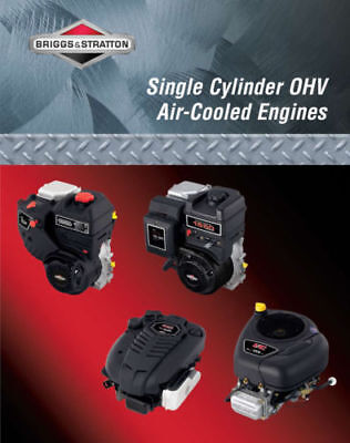 New Briggs Stratton Single Cylinder OHV Air-Cooled Engine Service Manual -