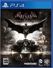 BATMAN ARKHAM KNIGHT PS4 !!!