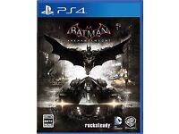 BATMAN ARKHAM KNIGHT PS4 !!!