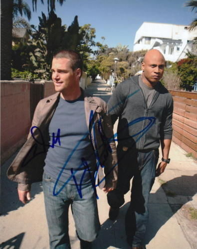 NCIS: LOS ANGELES..O'Donnell with L.L. Cool J - SIGNED