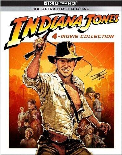 Indiana Jones 4-Movie Collection 4K Ultra HD Blu-ray