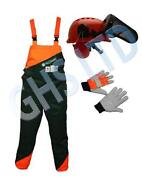 Bib Brace Chainsaw Trousers