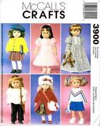 Doll Clothes Sewing Patterns