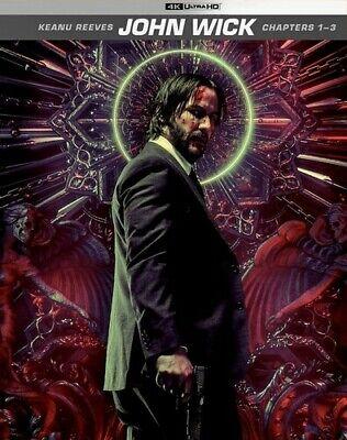 John Wick: Chapters 1-3 [New 4K UHD Blu-ray] 4K Mastering, Digital Copy, Dolby