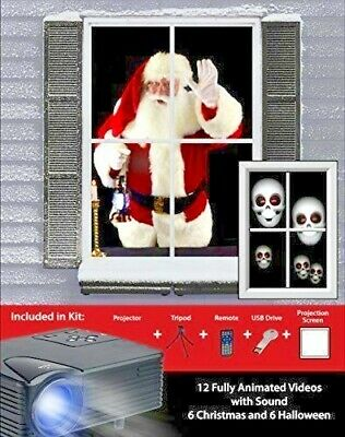 Mr Halloween Movie (Halloween Christmas Virtual Projector Kit Holiday Mr.Christmas Halloween 4)