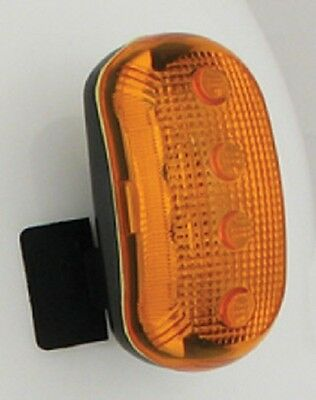 New Hardhat Safety Light Amber Hard Hat