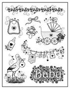 Baby Rubber Stamps