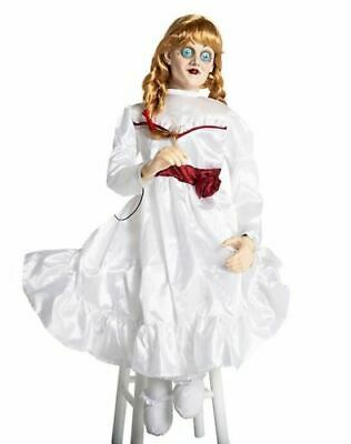 Morbid Enterprises Animated Annabelle Creation Doll 3FT Halloween Prop M38231 (Annabelle Halloween)