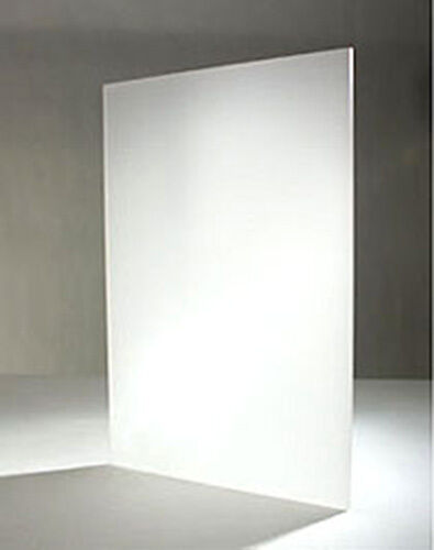 frosted acrylic perspex sheet cut to size panel plastic matt satin opal clear ebay. Black Bedroom Furniture Sets. Home Design Ideas