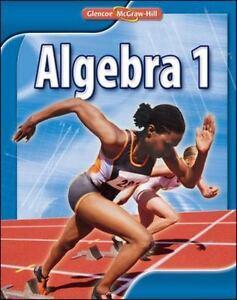Algebra 1 by Glencoe McGraw Hill Student Hardcover Textbook 2009