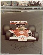 James Hunt Signed