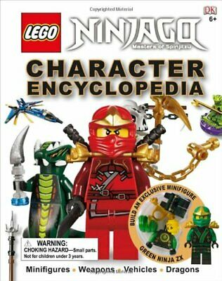Lego Ninjago: Character Encyclopedia by Sipi, Claire Book The Fast Free Shipping