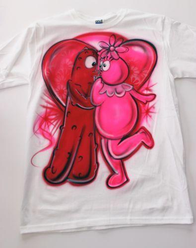 airbrush couples shirt